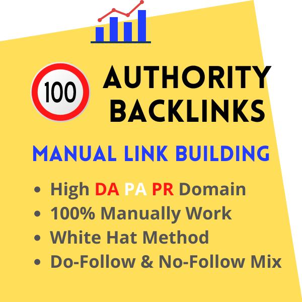 SEO Backlinks White Hat Manual Link Building Service